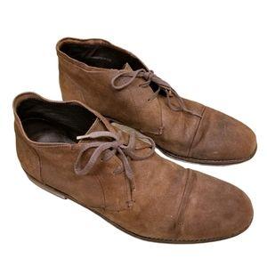 John Varvatos USA Suede Lace-Up Chukka Boots